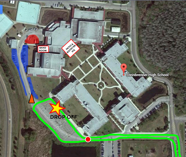Map for Band CampStein...K Camp In Due Time